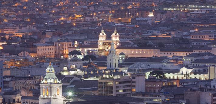 Quito, aspirantes a convertirse en una de las Siete Ciudades Maravilla del Mundo