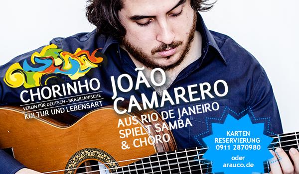 Die Seele Brasiliens auf sieben Saiten – João Camarero spielt Samba und Choro