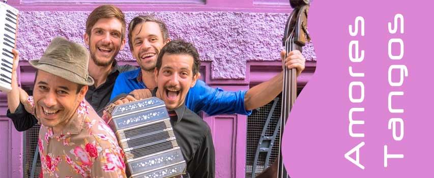 Amores Tangos – das Tango-Karneval-Orchester