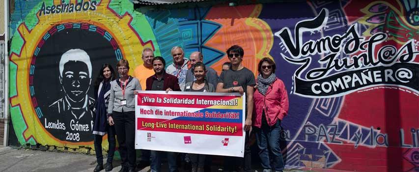 Kolumbien und Peru: Gewerkschaftsarbeit unter Extrembedingungen