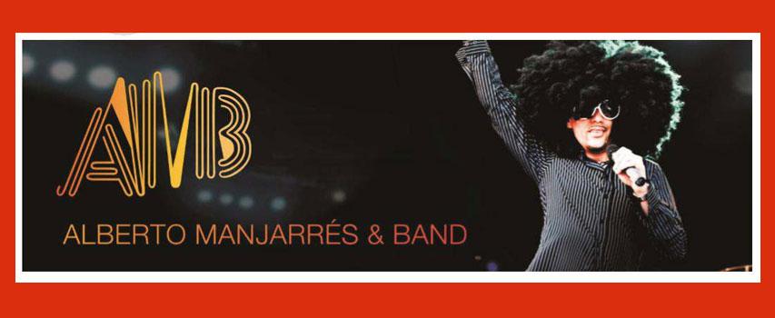 Konzert: Alberto Manjarrés und Band