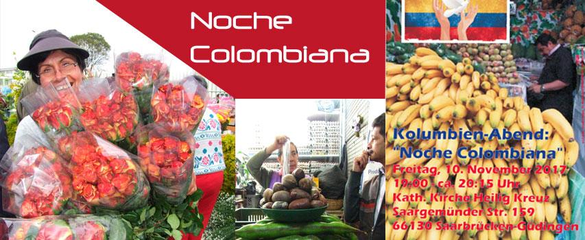"""Kolumbien-Abend : """"Noche Colombiana"""""""