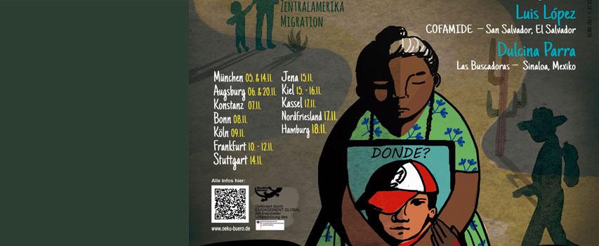"""Seminario/Workshop: Migración desde la perspectiva centroamericana: """"Ninguna vida es ilegal – Kein Mensch ist illegal"""""""