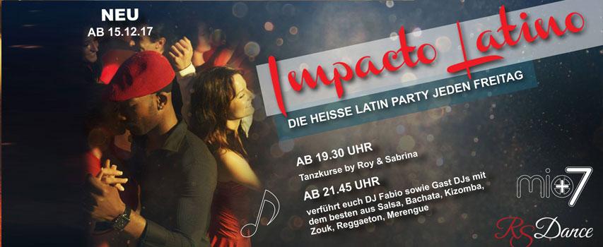 "Impacto Latino ""Grand Opening Party"" Tu viernes Latino en Mio7 Latin Club"