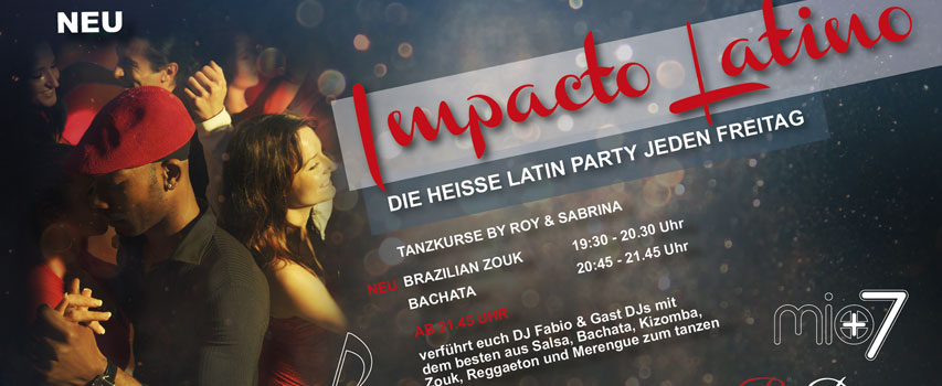 IMPACTO LATINO – Fiesta de Salsa y Musica Latina – Club Mio7