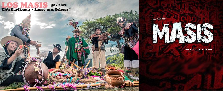 Konzert: Los Masis – Challarikuna-Tournee 2018