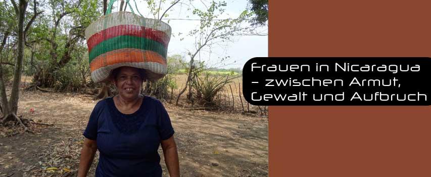 Vortrag: Frauen in Nicaragua – zwischen Armut, Gewalt und Aufbruch