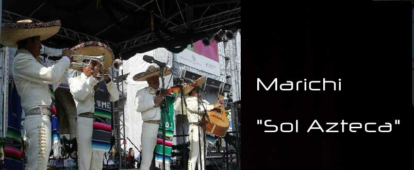 "Konzert Marichi ""Sol Azteca"" (Mexiko)"