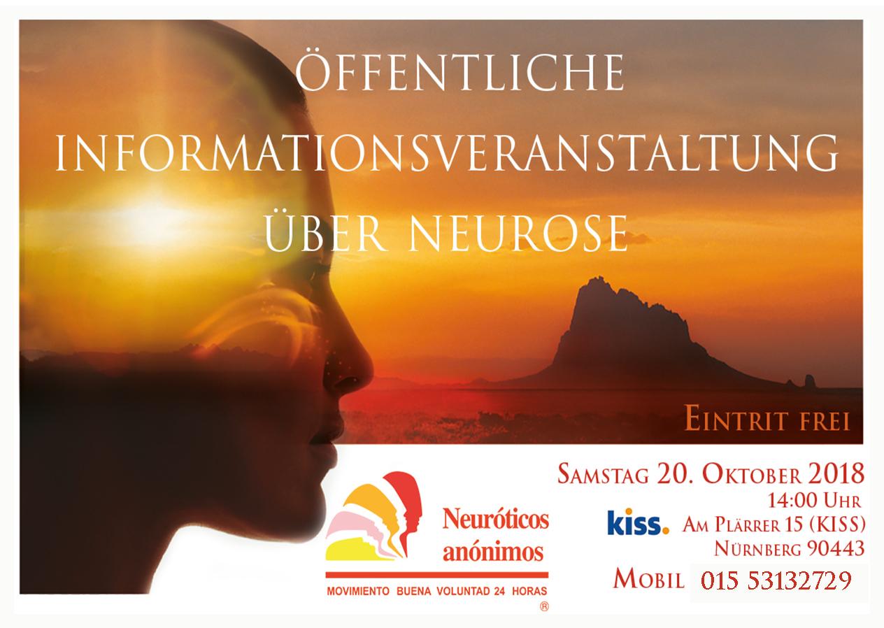 Öffentliche Informationsveranstaltung über Neurose