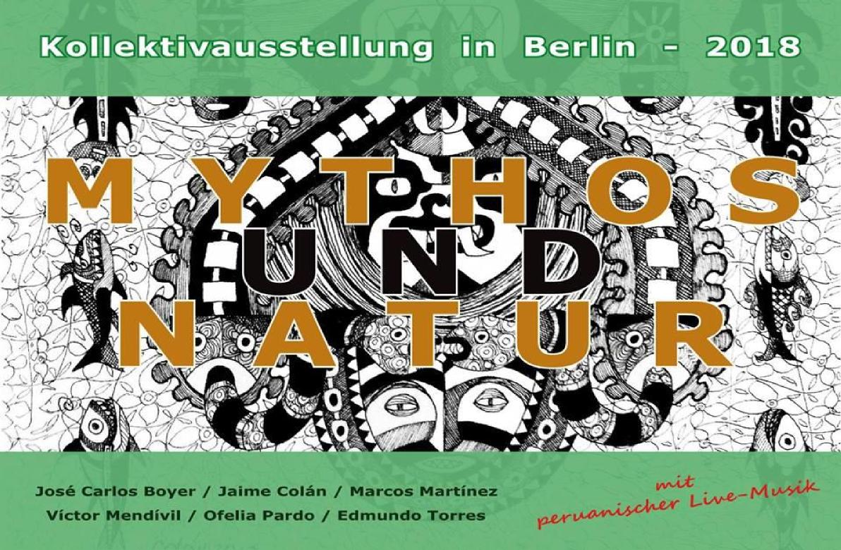 """Kollektivausstellung in Berlin-2018 """"Mythos und Natur"""""""