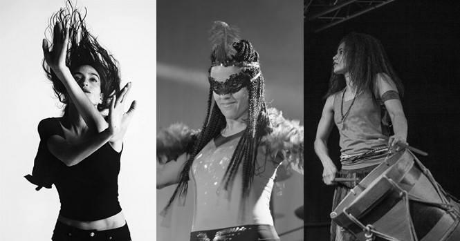 Migradas: Musik und Tanzperformance Público · Organizado por Cinco Sentidos e Iberoamerica Jena