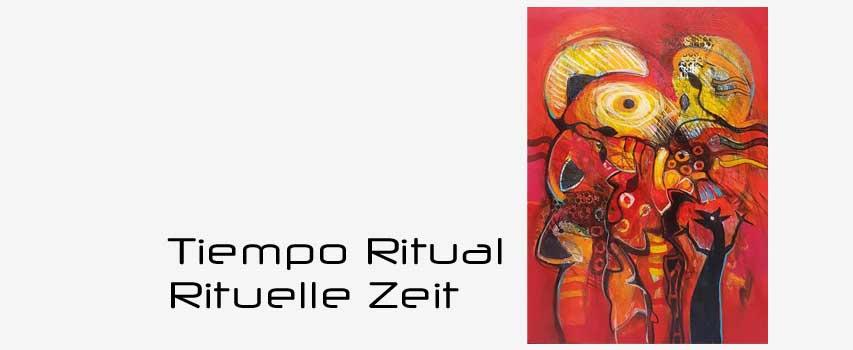 Vernissage Eröffnung der Ausstellung: Rituelle Zeit, Ursprung des Mythos