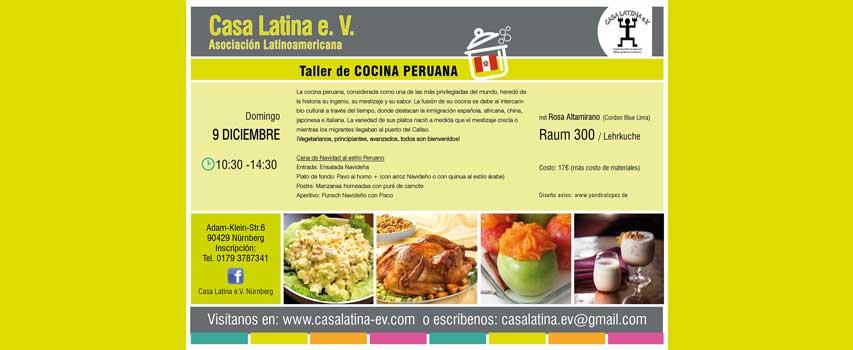 Peruanischer Kochkur – Cocina peruana