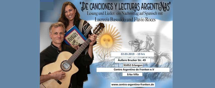 De Canciones y Lecturas Argentinas