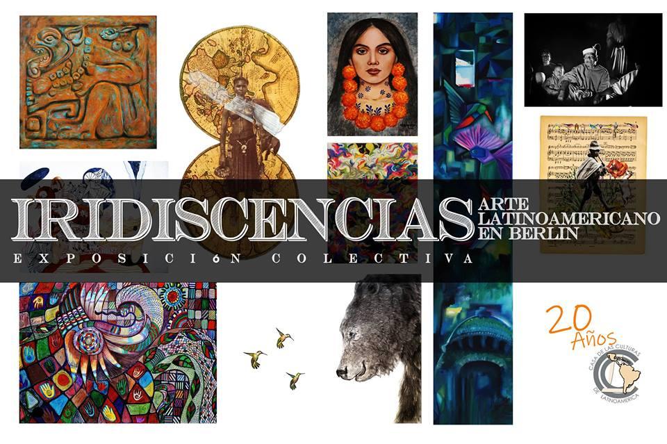 Iridiscencias, exposición colectiva de arte latinoamericano