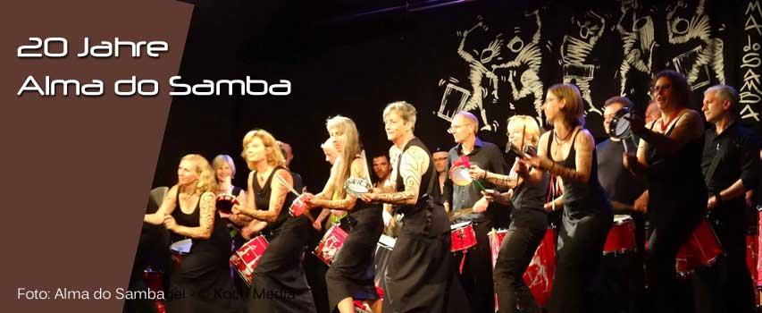 20 Jahre Alma do Samba – Jubiläumskonzert