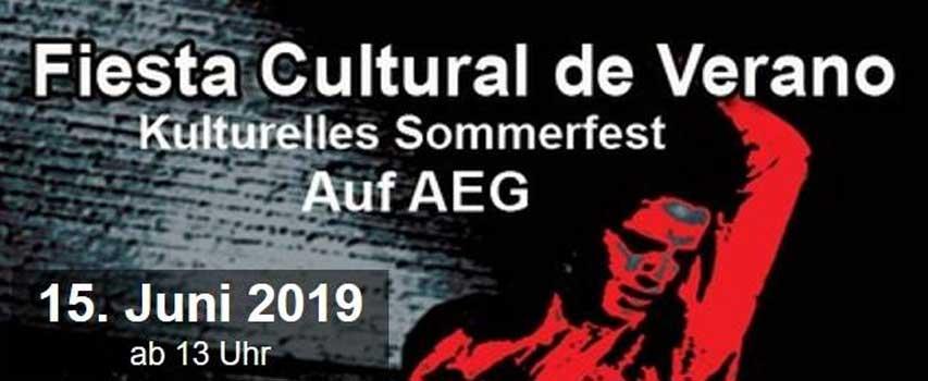 Spanisches Sommerfest / Fiesta del patio 2019