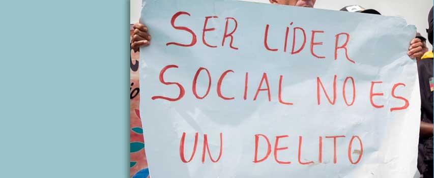 Kriminialisierung der sozialen Bewegung in Kolumbien
