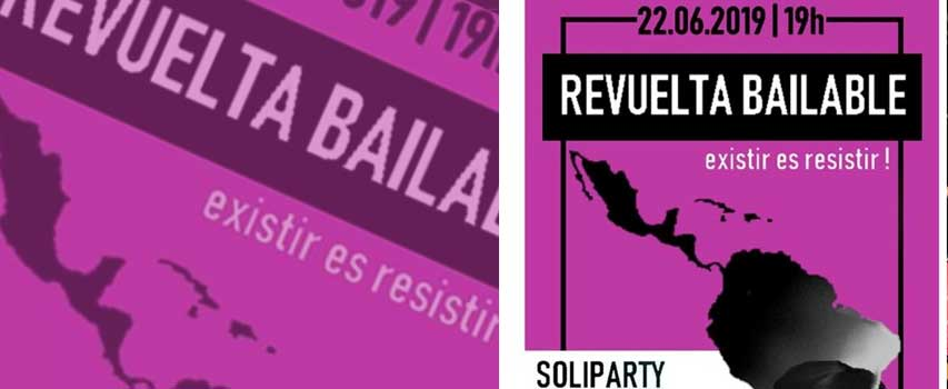¡Revuelta Bailable! Soliparty Bloque Latinoamericano