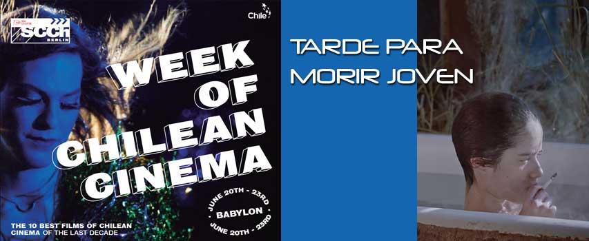 Kino: TARDE PARA MORIR JOVEN