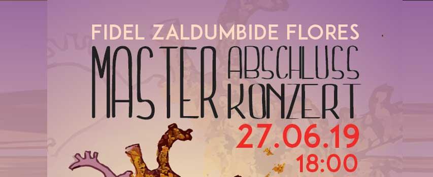"""Master Abschluss Konzert """"Zwischen zwei Welten"""""""