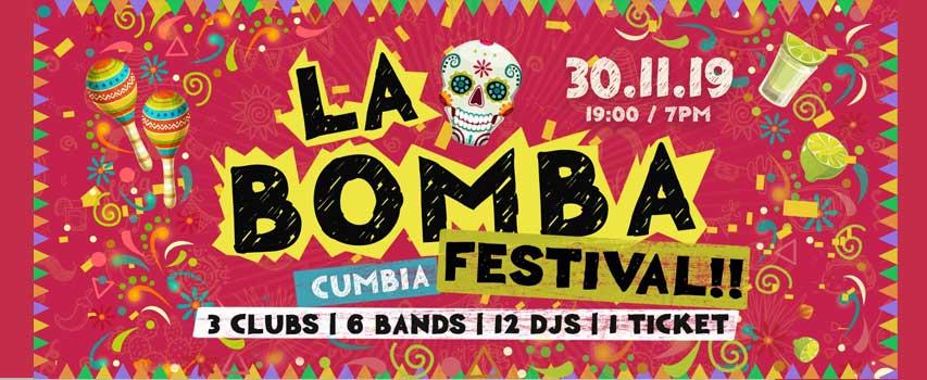 LA BOMBA CUMBIA FESTIVAL BERLIN 2019