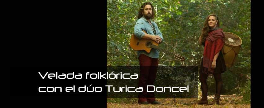 Velada folklórica con el dúo Turica Doncel