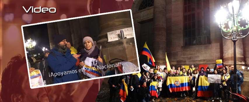 Paro Nacional Colombia, Nuremberg Presente!
