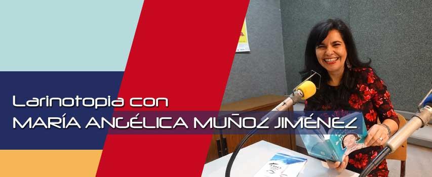 """María Angélica Muñoz Jiménez en Latinotopia con su poema """"Amor"""""""