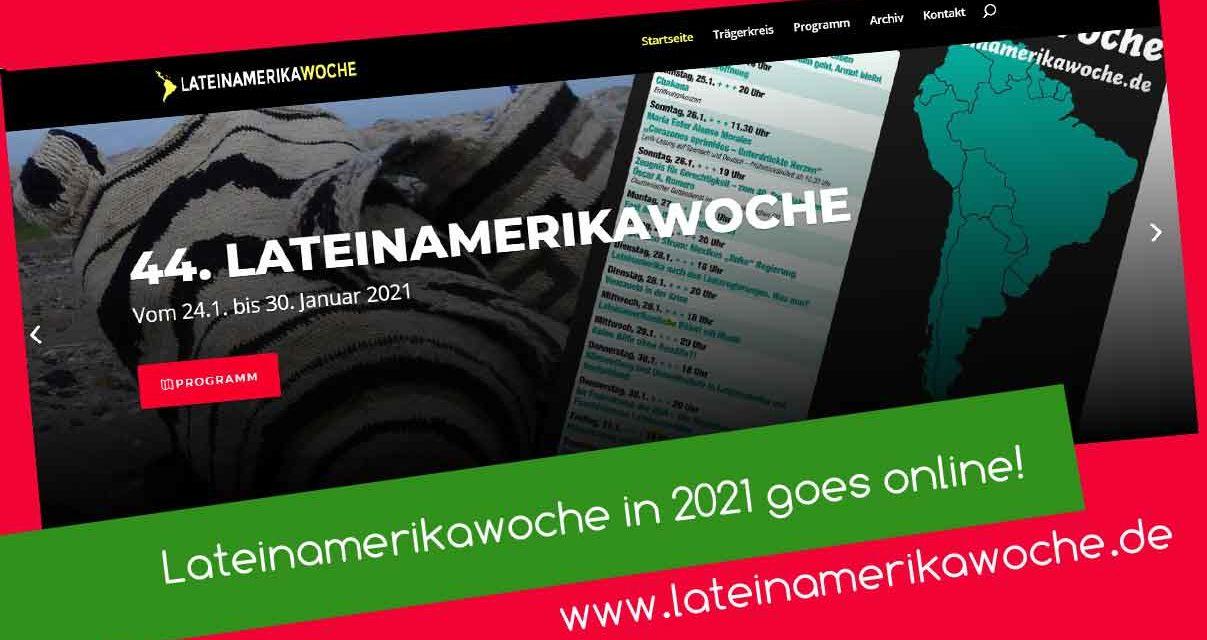 Lateinamerikawoche goes online!