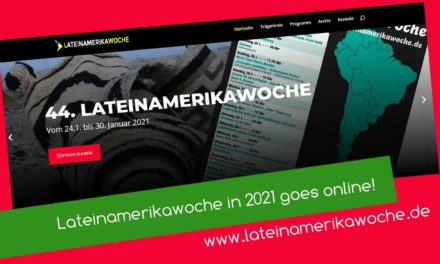 Lateinamerikawoche goes online!