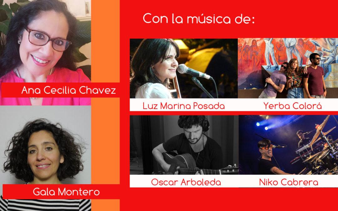 Gala Montero y Ana Cecilia Chavez en Latinotopia