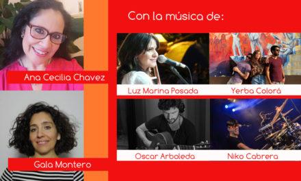 Gala Montero y Ana Cecilia Chávez en Latinotopia
