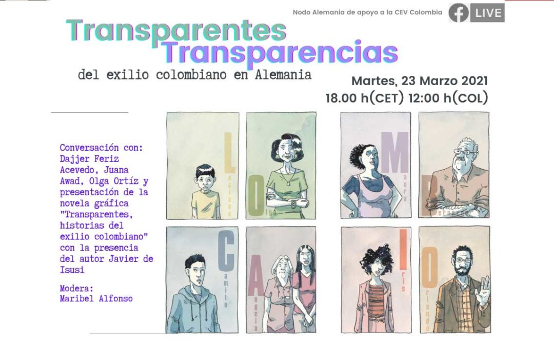 Transparentes transparencias del exilio colombiano en Alemania