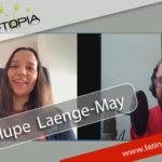 Guadalupe Laenge-May y su clase de español