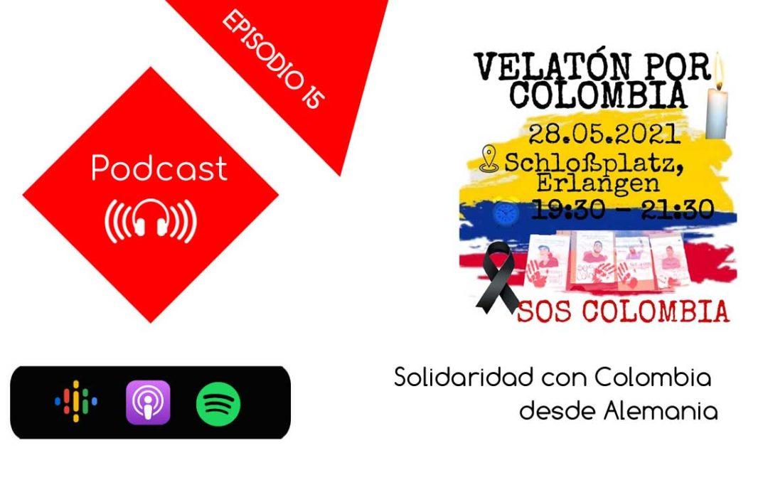 Solidaridad con Colombia desde Alemania