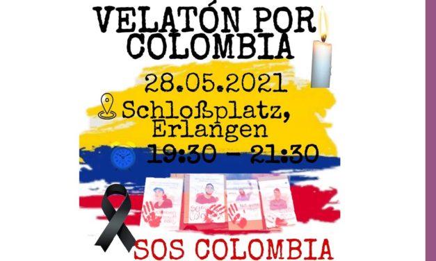 SOS COLOMBIA – VELATON EN ERLANGEN